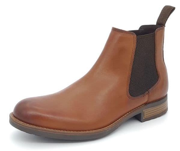 HX London - Hampton Leather Chelsea Boots Tan Brown